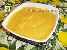 Crema pasticcera al succo di arancia Bimby ricetta Blog Profumi Sapori & Fantasia