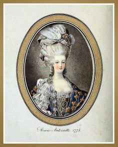 Hats by Madame Bertin (Milliner to Marie Antoinette & the French Court) 1775