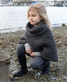 child agate cape (also in adult sizes) crochet