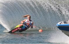 Waterskiing - Water skiing was invented in 1922 when Ralph Samuelson used a pair of boards as skis and a clothesline as a towrope on Lake Pepin in Lake City, Minnesota. - Wikipedia