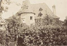"""La tour et la toiture du """" Château Sarrasin """", entre 1890 et 1900, Pierre Bonnard. Musée d'Orsay."""