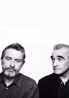 Robert De Niro & Martin Scorsese