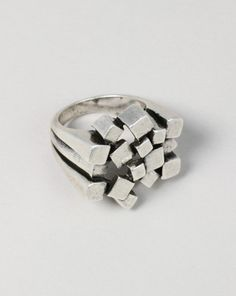 Ring | Jewels+Mints.  Sterling silver and I would punch someone in the face with it.