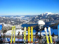 THEMA: Zwölferhorn Ski Tour ORT: St. Gilgen REGION: Salzkammergut BUNDESLAND: Salzburg LAND: Österreich ©Wolfgang Trautner