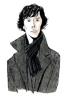 Sherlock illustrated by Yoko Tanj