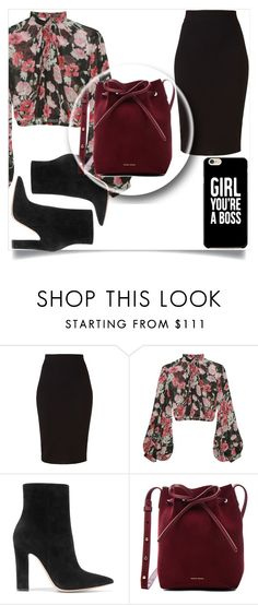 """""""Girl your the boss"""" by rhianna-alexandre on Polyvore featuring Winser London, Jill Stuart, Gianvito Rossi and Mansur Gavriel"""