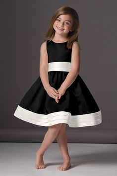 Shop Seahorse Flower Girl Dress - 46248 in Duchess Satin at Weddington Way. Find the perfect made-to-order flower girl dress for the little girl in your wedding.