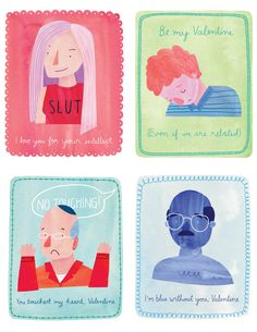 """Get blue on Valentine's Day with these """"Arrested Development"""" cards 