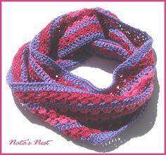 Natas Nest: Striped Crochet Loop - Gestreifter Häkel-Loop