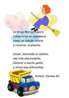 "Spanish Halloween poem for kids: ""La bruja Maruja"" by Carmen Gil. poems for kids Learning Spanish For Kids, How To Teach Kids, Preschool Learning, Teaching Spanish, Teaching Kids, Halloween Poems For Kids, Halloween Activities, Dual Language Classroom, Spanish Classroom"