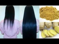 Ginger for hair growth, treat Dandruff, and split ends Natural Hair Tips, Natural Hair Styles, Long Hair Styles, Hair Issues, Hair Growth Treatment, Hair Treatments, Regrow Hair, Healthy Hair Tips, Hair Growth Tips