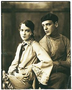 Fred and Adele Astaire, c. 1920s (photo by James E. Abbe)