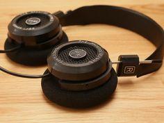 Grado SR 80e headphones.