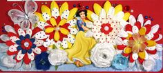 disney scrapbook layouts | 12 x 12 Premade Scrapbook Layout Disney Princess -- Snow White