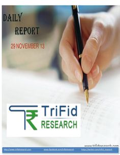 equity-dailytechnicalreport29novembertrifid-research-28727742 by trifid research via Slideshare