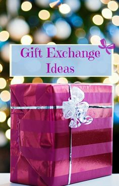 Gift exchange themes can bring a new twist to holiday gift giving while saving time and money. Wrap your gift exchange in festive holiday paper to raise anticipation and excitement.