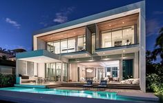 Peribere Residence par Max Strang Architecture - Biscayne Bay, Usa | Construire Tendance