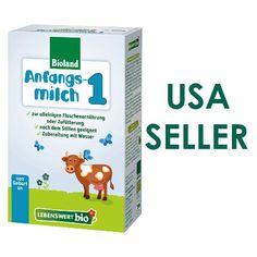 Holle Lebenswert Bio Stage 1 USA Seller Infant Formula Milk 500g