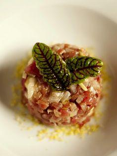Bocados dulces y salados: Tartar de atún rojo