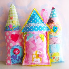 Stuffed Houses 412 by Laurie Star, via Flickr
