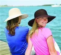 Bellissimi cappelli estivi da donna. La particolarità? Sono anti raggi uv e proteggono la pelle del viso...