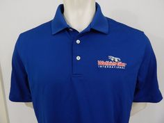 Watkins Glen International Raceway Polo Shirt Size L Embroidered Ping Wicked  #Ping #PoloRugby