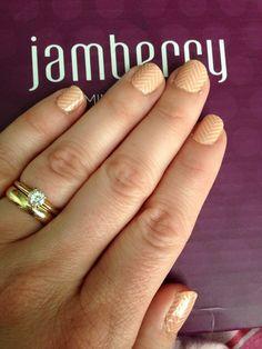 "Jamberry nail wraps (""just peachy"")  Shop at Ladisa.jamberry.com"