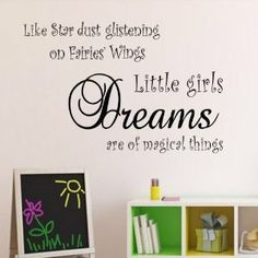 """Wall Sticker Decal.  WHERE'S THE APOSTROPHE?  Oh well, just leave off the """"s"""" on """"girls."""""""