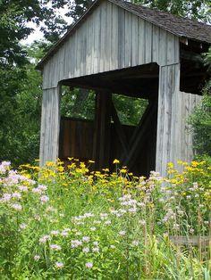 Pugh's Mill Covered Bridge in Oxford, Ohio | www.gettothebc.com | Butler County, Ohio