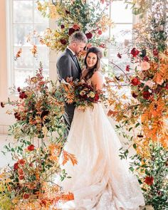 30 Bright Ideas Of Wedding Ceremony Decorations ❤ wedding ceremony decorations fall flowers arch #weddingforward #wedding #bride