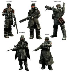 Helghast Classes