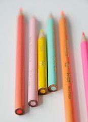 Coloured pencils ~ Simple pleasures