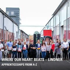 Many of our colleagues in management positions originally started their career with an apprenticeship at Lindner. And we offer you a wide range of opportunities: With us, you can choose from 35 different apprenticeships at different locations! Interested? Marketing Jobs, In A Heartbeat, Beats, Career, Management, Range, Travel, Group, Check