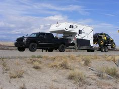 Anybody have a slide-in camper AND a decent sized trailer? - Page 2 - Diesel Place : Chevrolet and GMC Diesel Truck Forums Gmc Diesel, Diesel Trucks, Slide In Camper, Trailer 2, Recreational Vehicles, Chevrolet, Rv, Places, Blue Prints