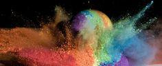 Geweer + gloeilamp + glitter = toffe kunst