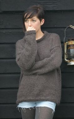 His & Hers Sweater from 10 Simple, Cosy Projects by Sarah Hatton