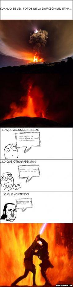 La belleza friki de un volcán        Gracias a http://www.cuantocabron.com/   Si quieres leer la noticia completa visita: http://www.estoy-aburrido.com/la-belleza-friki-de-un-volcan/
