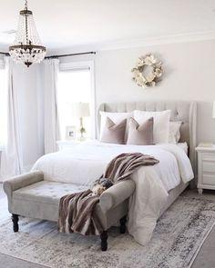 Bedroom setup - Cool Home Interior Design Ideas You Must Try Asap – Bedroom setup Bedroom Setup, Master Bedroom Design, Home Decor Bedroom, Modern Bedroom, Contemporary Bedroom, Bedroom Furniture, Master Suite, Bedroom Rugs, Bedroom Designs