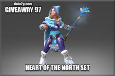 Giveaway 97 - Heart of the North Set