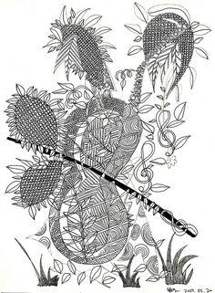 해바라기 바이올린 / sunflower violin