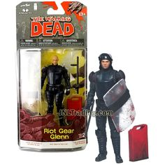 "McFarlane Toys AMC Walking Dead TV Series 4 GOVERNOR Loose 5/"" Figure 2013"