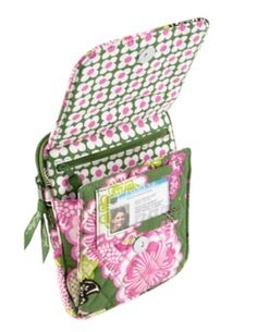 Mini Hipster | Vera Bradley. Olivia Pink might just be my 2nd. all time favorite pattern..right behind Hello Dahlia
