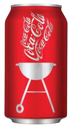 Fits me perfectly: coca cola AND bbq :) Coca Cola Decor, Coca Cola Can, Always Coca Cola, World Of Coca Cola, Coca Cola Bottles, Coke Cans, Pepsi, Coca Cola Vintage, Cocoa Cola