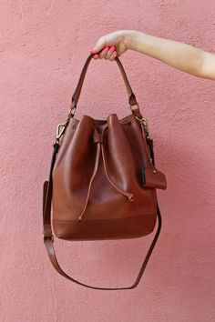 { @madewell bucket bag }