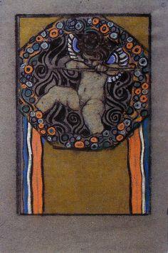 Josef Maria Auchentaller in Wien – 1949 in Grado in Italy) Koloman Moser, Gustav Klimt, Art Nouveau, Poster Art, Design Poster, Vienna Secession, Design Movements, Art And Illustration, Illustrations