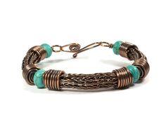 Viking maglia bracciale braccialetto coppia di whitecloverstudios