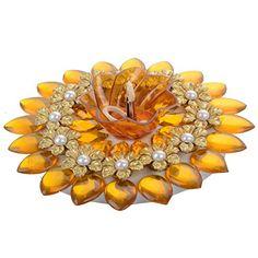 Mrp 200Chawla Festive Decor Crystal Floating Diya - (15 Cm x 15 Cm x 4 Cm, Yellow) Chawla Festive Decor http://www.amazon.in/dp/B011QVE64C/ref=cm_sw_r_pi_dp_dqndwb08T2CCF