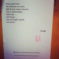 Movimento per l'emancipazione della poesia, Bologna