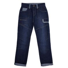 Older Boys Fashion Utility Denim Jeans