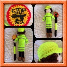 Crochet lollipop lady by Leejaycherry